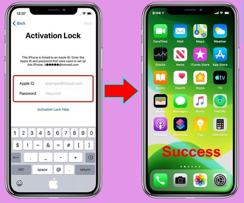 Bypass Activation Lock
